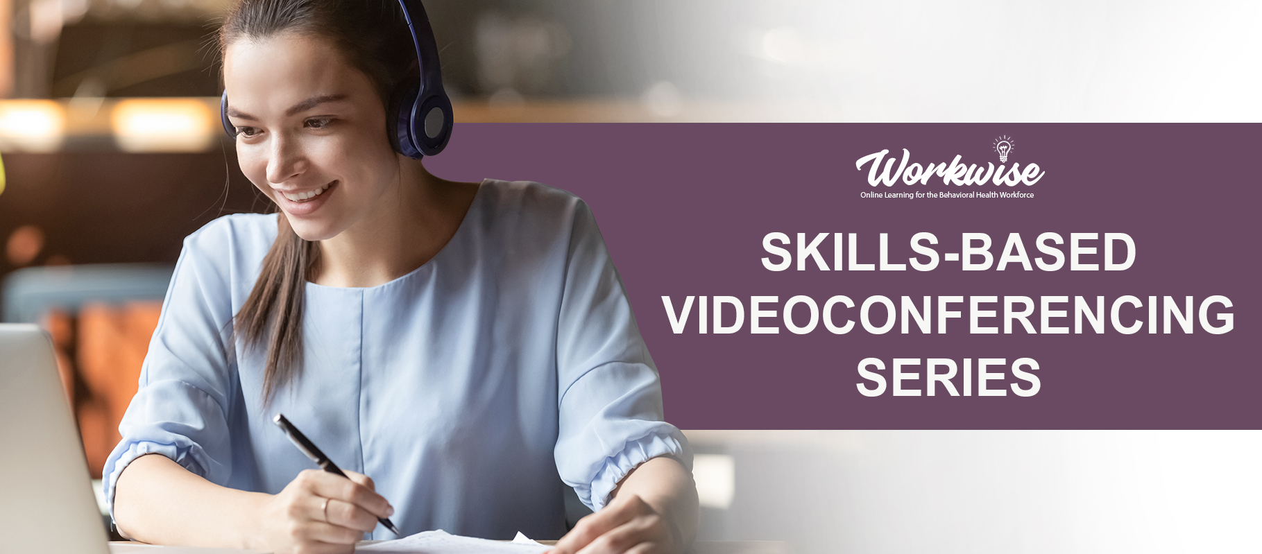 Skills based video conferencing logo